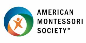 American Montessori Society accredited logo